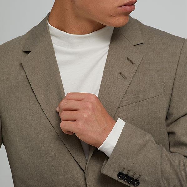 Anzug Taupe Tiger of Sweden 2-teilig Slim Fit 03   Landanzeiger-Shopping
