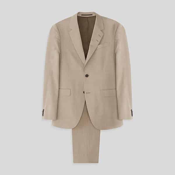 Anzug Taupe Tiger of Sweden 2-teilig Slim Fit 04   Landanzeiger-Shopping