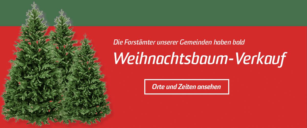 Weihnachtsbaumverkauf Gemeinden Banner   Landanzeiger-Shopping