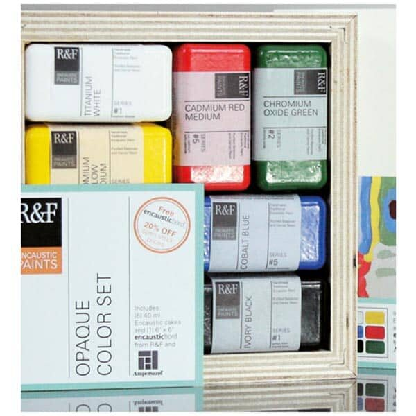 Enkaustik-Set R&F | Landanzeiger-Shopping