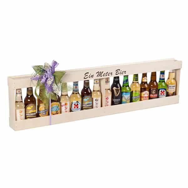 Holzkiste für einen Meter Bier | Landanzeiger-Shopping