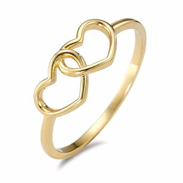 Fingerring 750/18 K Gelbgold Herz 01 | Landanzeiger-Shopping