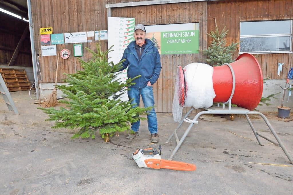 Weihnachtsbäume vom Egghof Muhen | Landanzeiger-Shopping