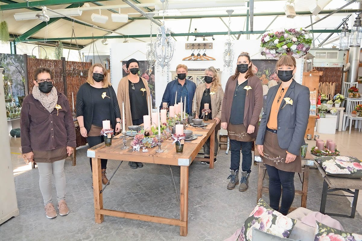 Das Team von Schaufelbühl Blumen |Landanzeiger-Shopping
