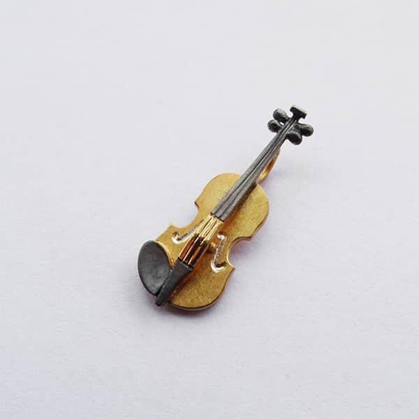 Violine Pin/Anhänger | Landanzeiger-Shopping