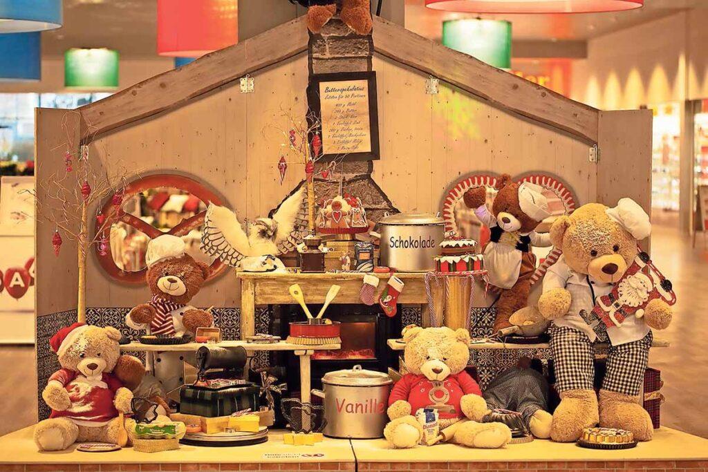 Teddy im Winterwunderland Perry Center 01 | Landanzeiger-Shopping