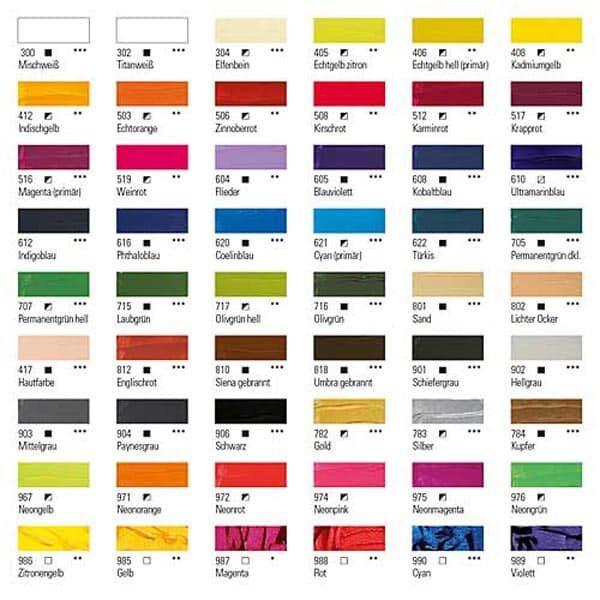 Boesner Acryl Studio Künstlerfarbe 02 | Landanzeiger-Shopping
