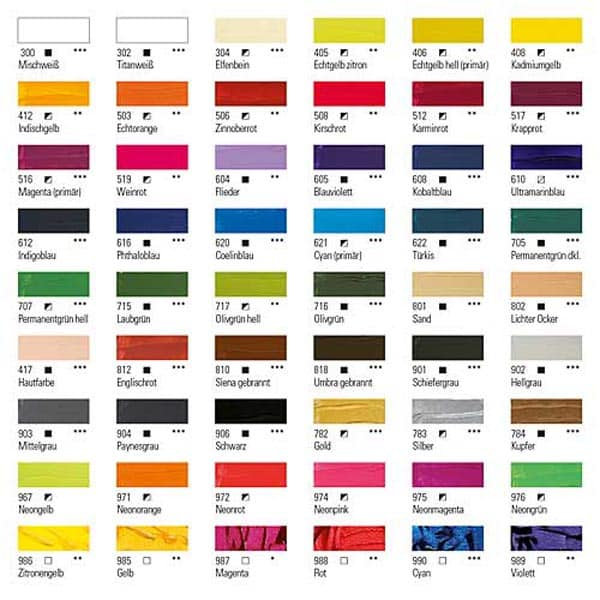 Boesner Acryl Studio Künstlerfarbe 02   Landanzeiger-Shopping