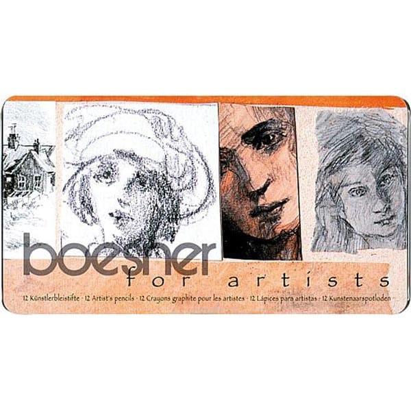 Bleistift Spezialset boesner for artist 01   Landanzeiger-Shopping
