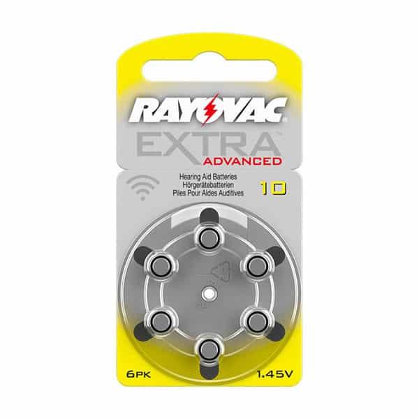 Rayovac 10 Extra Advanced Hörgerätebatterien - Audisana | Landanzeiger-Shopping