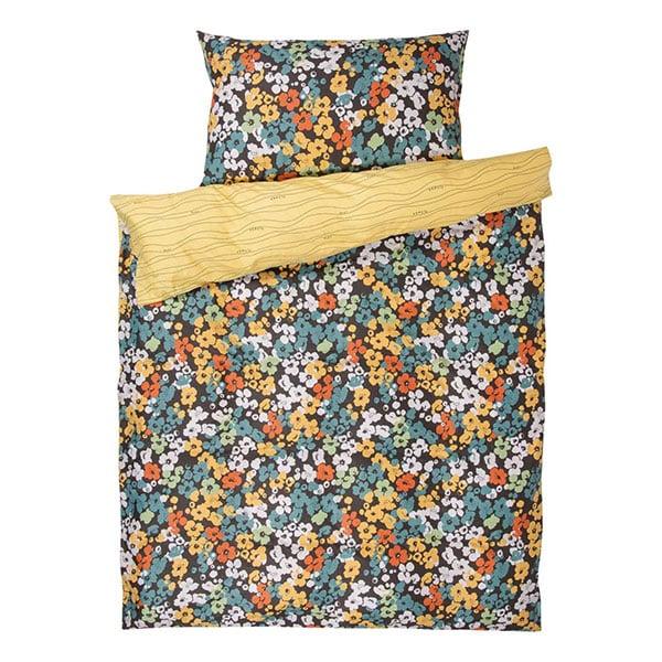 Bettwäsche gelb mit Blumen 01 | Landanzeiger-Shopping