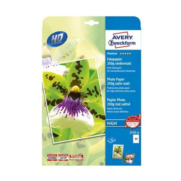 Avery Fotopapier 250 g seidenmatt |Landanzeiger-Shopping