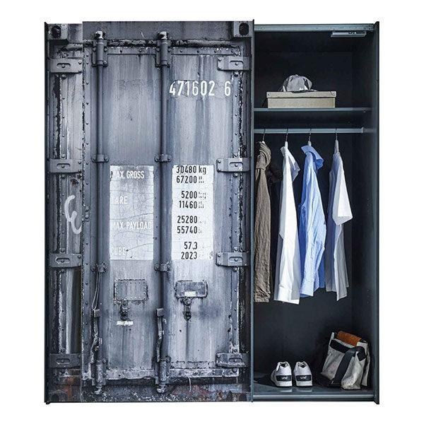 Schwebetürenschrank Container 02 | Landanzeiger-Shopping