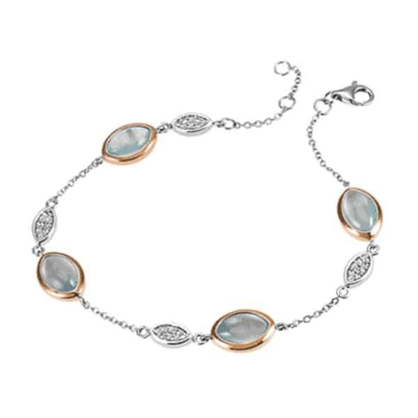 Armband 925 Silber mit Turquoise | Landanzeiger-Shopping