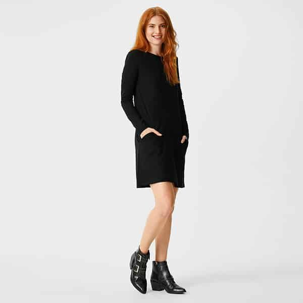 Basic Kleid Bio-Baumwolle 01 | Landanzeiger-Shopping