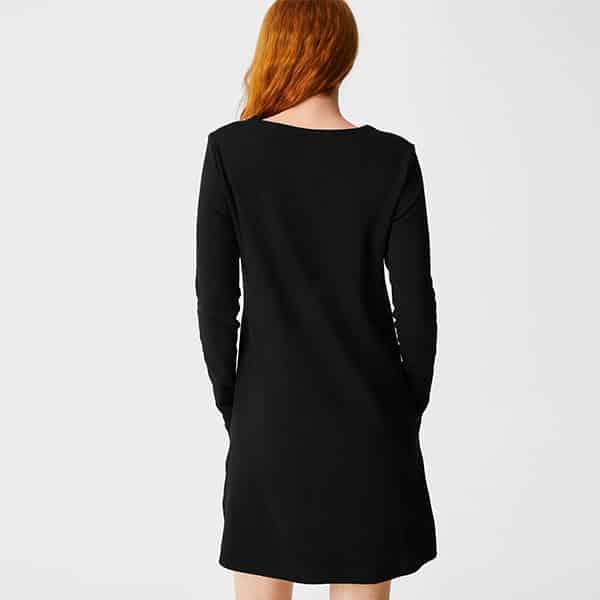Basic Kleid Bio-Baumwolle 02 | Landanzeiger-Shopping