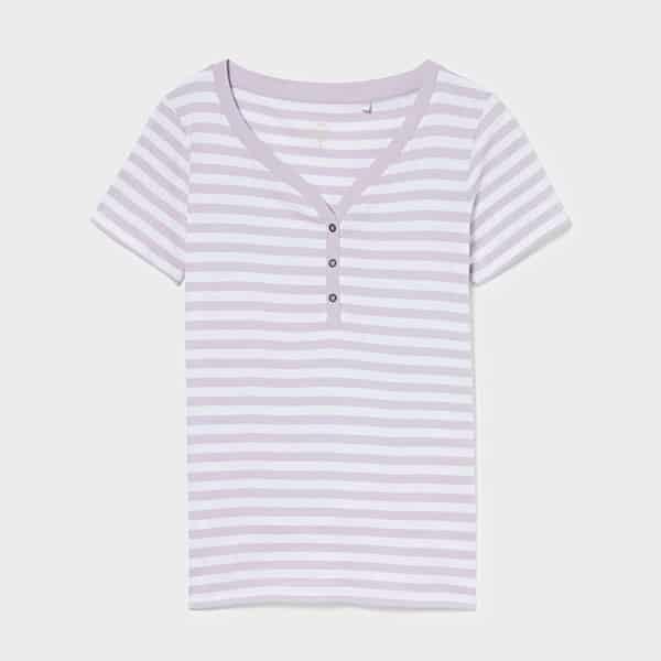Basic T-Shirt gestreift Bio Baumwolle 03 |Landanzeiger-Shopping