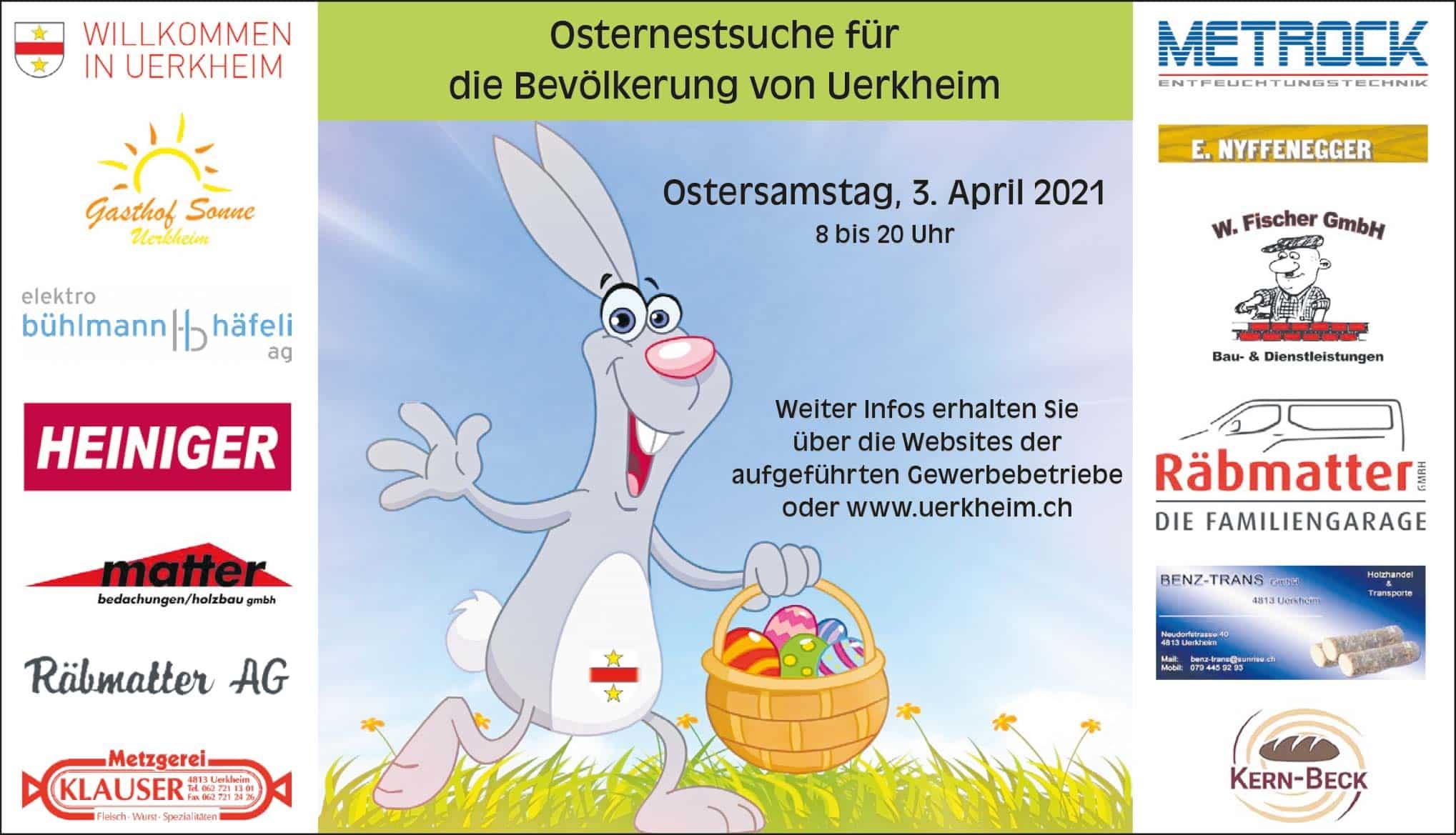 Inserat Osteraktion Uerkheim |Landanzeiger-Shopping