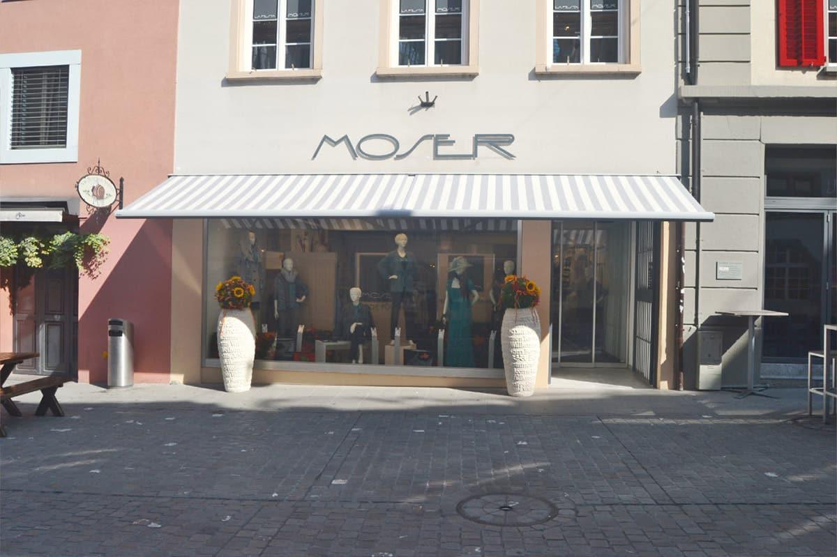 Mode Moser Aarau aussen | Landanzeiger-Shopping