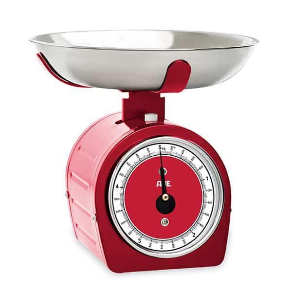 Küchenwaage Shirley rot von ADE |Landanzeiger-Shopping