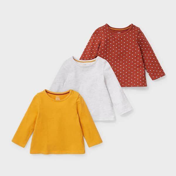 Multipack 3er-Baby-Langshirt | Landanzeiger-Shopping