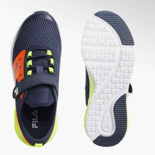 Fila Sneaker blau gelb orange 02 | Landanzeiger-Shopping