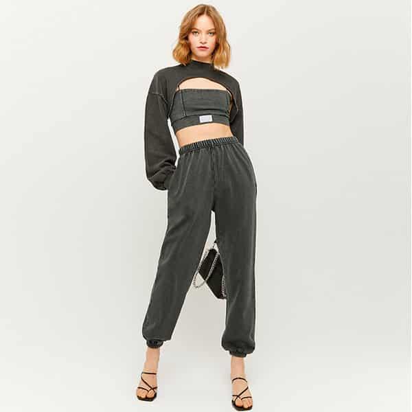 Sweatshirt kurz grau 04 |Landanzeiger-Shopping