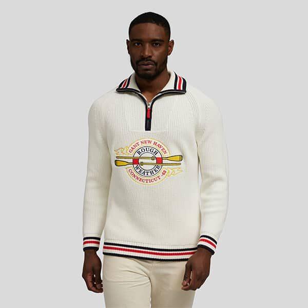 Pullover mit Trojer-Kragen Gant 01 | Landanzeiger-Shopping