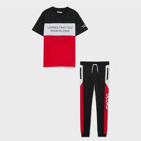 Set Kurzarmshirt und Jogginghose 04 |Landanzeiger-Shopping