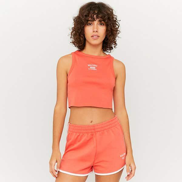 Shorts sportlich orange 01 |Landanzeiger-Shopping