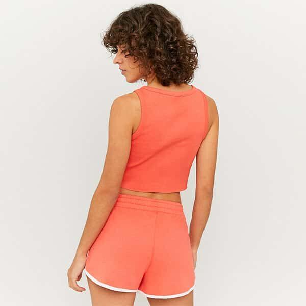 Shorts sportlich orange 02 |Landanzeiger-Shopping