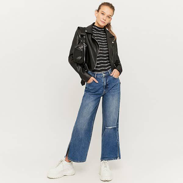 Skinny Jeans mit geteiltem Saum 02 | Landanzeiger-Shopping