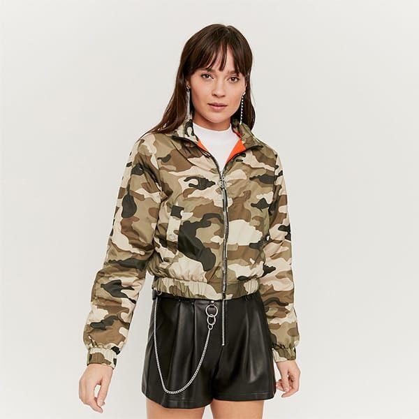 Windjacke kurz camouflage 01 | Landanzeiger-Shopping