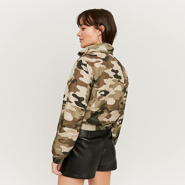 Windjacke kurz camouflage 02 | Landanzeiger-Shopping