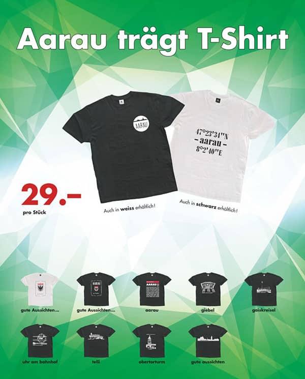 Aarau T-Shirts diverse Sujets |Landanzeiger-Shopping