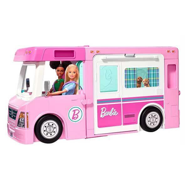 Barbie 3-in-1 Abenteuer Camper mit Zubehör 01 | Landanzeiger-Shopping