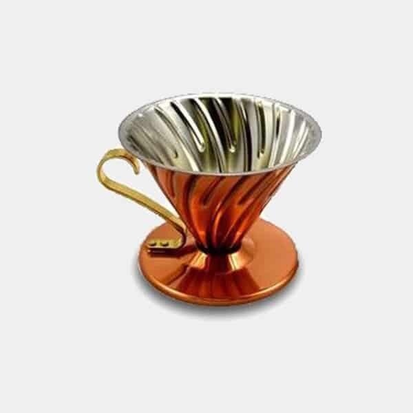 Hario V60 Kaffeefilter Kupfer | Landanzeiger-Shopping