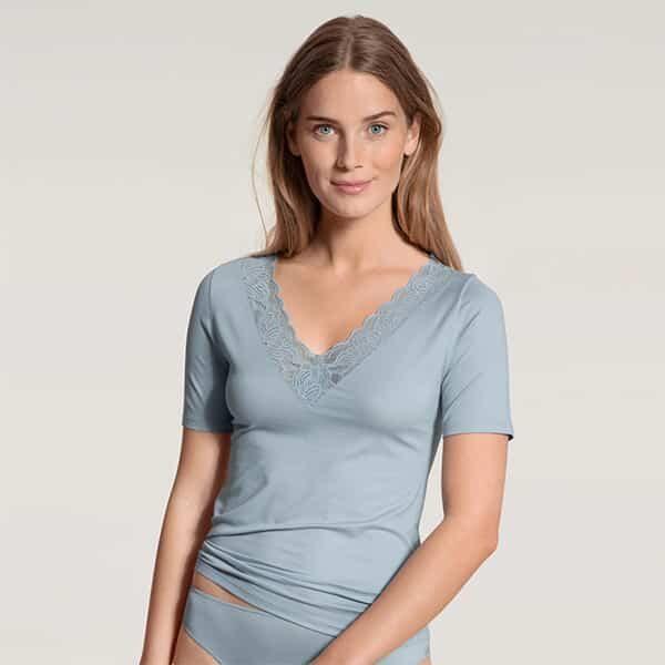 Modal Sense T-Shirt blue fog 01 | Landanzeiger-Shopping