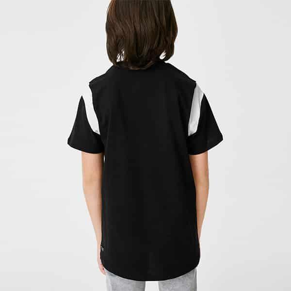 Kurzarmshirt Jungen schwarz 02 | Landanzeiger-Shopping