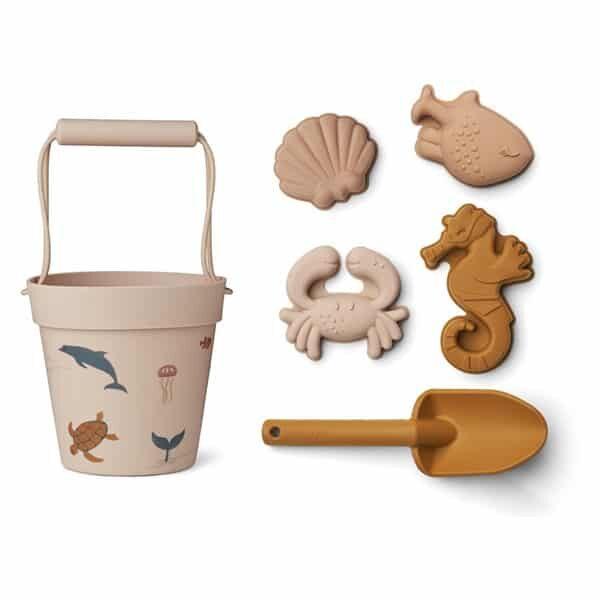 Liewood Sandspielzeug Sea Creature Rose mix | Landanzeiger-Shopping
