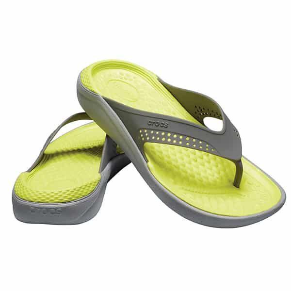 Crocs LiteRide Flip slate grey 01 |Landanzeiger-Shopping