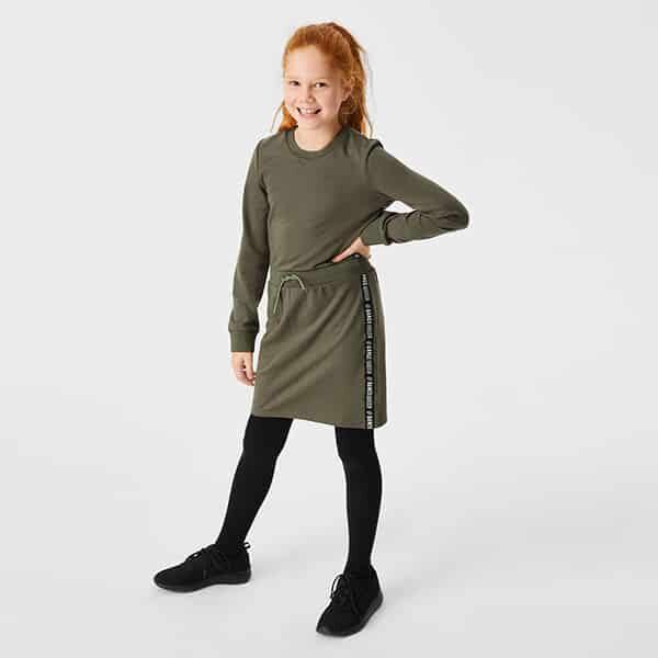 Sweatkleid Mädchen grün 01 | Landanzeiger-Shopping