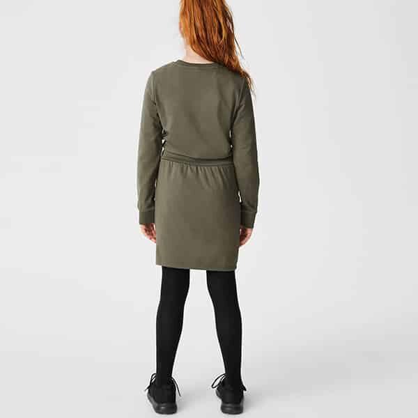 Sweatkleid Mädchen grün 02 | Landanzeiger-Shopping
